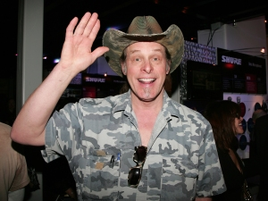 ANAHEIM, CA - JANUARY 16: Musician Ted Nugent attends the 2010 NAMM Show - Day 3 at the Anaheim Convention Center on January 16, 2010 in Anaheim, California. (Photo by David Livingston/Getty Images for NAMM)