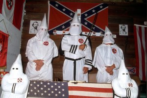 Mandatory Credit: Photo by Tom Kidd/REX (204168d) KU KLUX KLAN IN FLORIDA, AMERICA - 1992 (Newscom TagID: rexphotos671655.jpg) [Photo via Newscom]